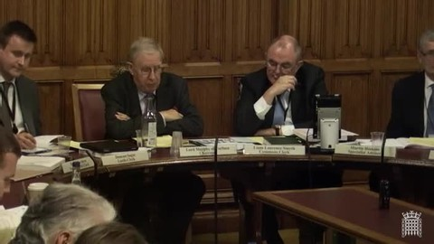 Witnesses: Rt Hon. Lord Judge, Chief Surveillance Commissioner, Clare Ringshaw-Dowle, Chief Surveillance Inspector, Office of Surveillance Commissioners, Rt Hon. Sir Stanley Burnton, Interception of Communications Commissioner, and Jo Cavan, Head of the Interception of Communications Commissioner's Office